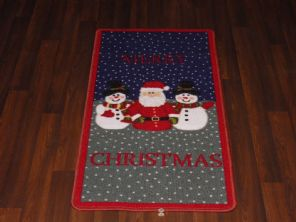 Approx 4x2 60cmx110cm Novelty Nice Christmas Mats Non Slip Washables Santa New